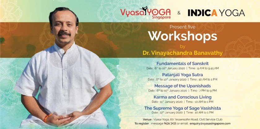 Indica Yoga Workshops in Singapore