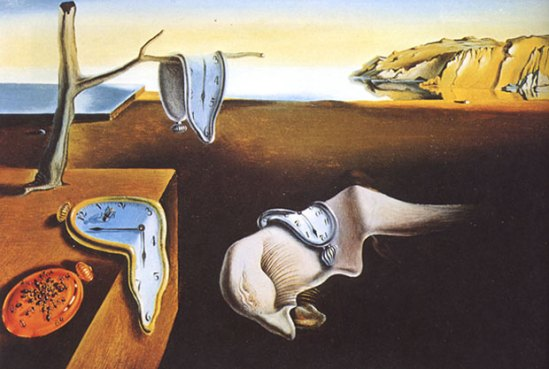 The Persistence of Memory - Salvador Dali
