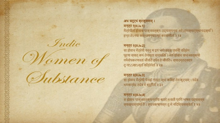 "Call for Short Story Writers on ""Indic Women of Substance"""