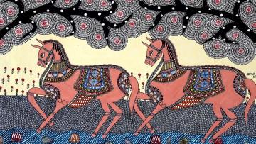 प्राचीन भारतीय वाङ्मय में घोड़े एवं उनका महत्व