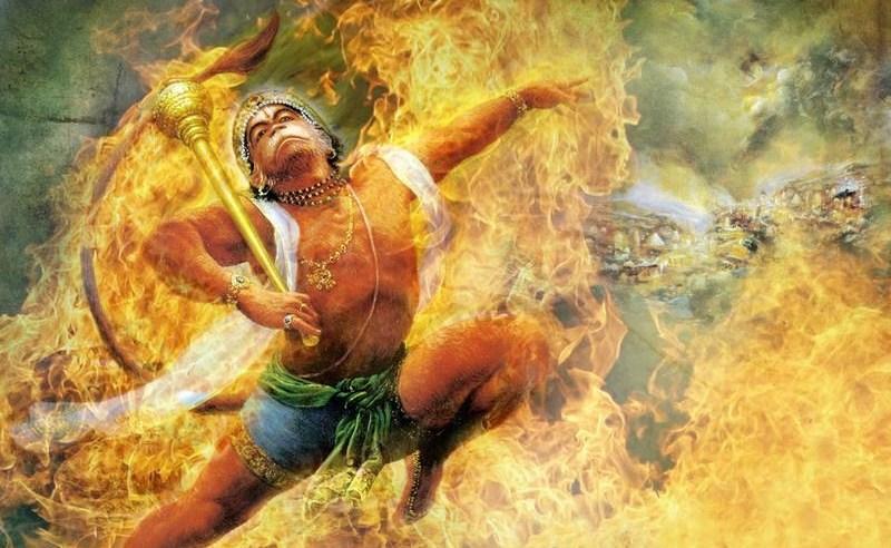 Hanuman vs Ravana  – Episode from Sundara Kanda
