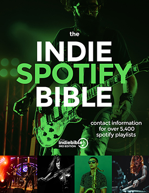 Indie Spotify Bible cover scan