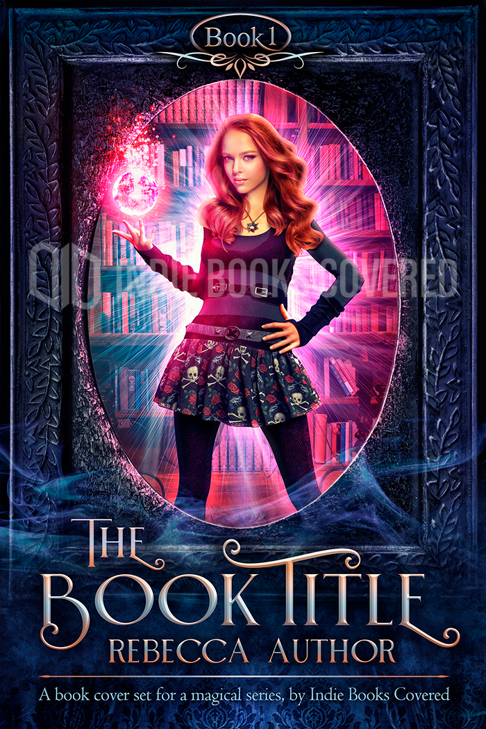 Book 1 in a premade cover series for Wicca