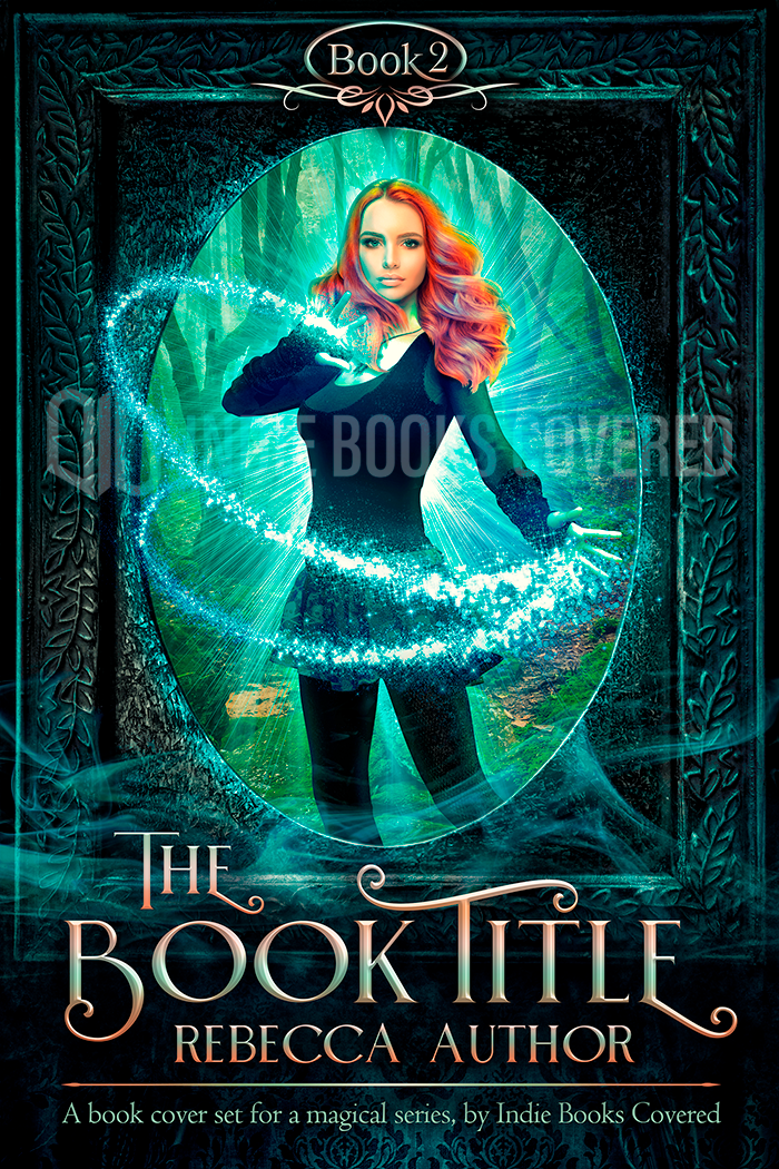 ebook cover design, witch