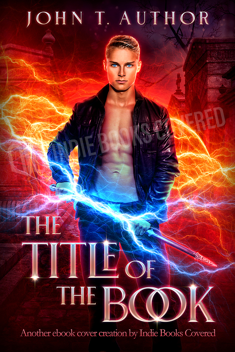 premade book cover design for fantasy fiction