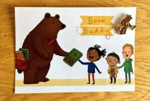 Bernard the Book Buddy Bear