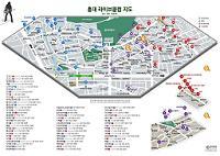 홍대 라이브클럽 지도 Ver. 20110626