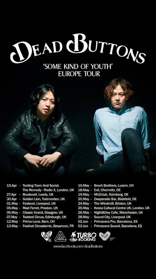 Dead Buttons – Some Kind of Youth Europe Tour