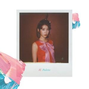 Album cover for IU's Palette