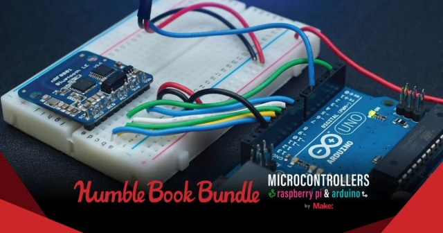 The Humble Book Bundle Microcontrollers Raspberry Pi & Arduino by Make