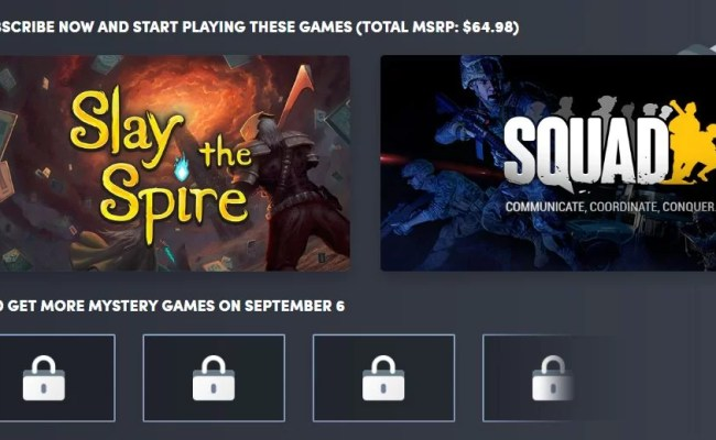 Humble Monthly Bundle September 2019 Titles Revealed