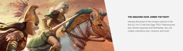 Get Free Amazons DLC for A Total War Saga: TROY