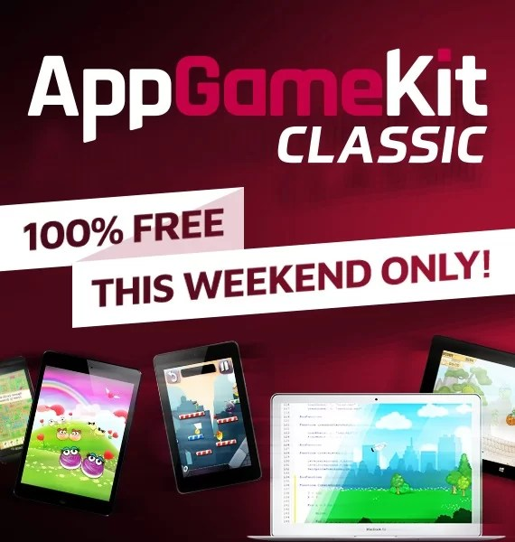 Get AppGameKit Classic: Easy Game Development for free on Steam