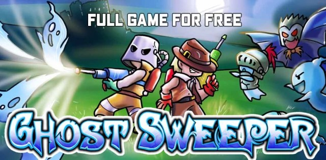Get Ghost Sweeper for FREE on IndieGala 2