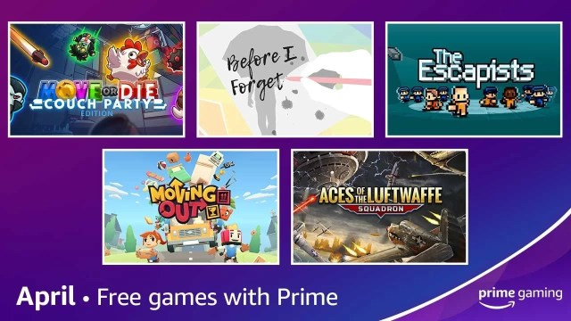 Free games with Amazon Prime Gaming for April 2021 2