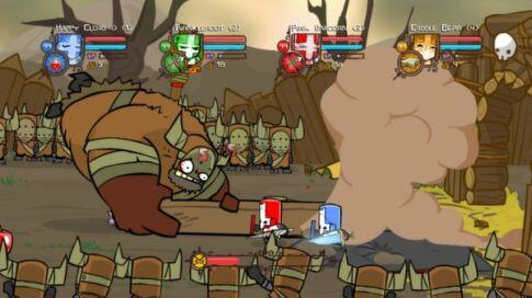 castle_crashers boss fight