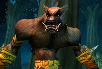 World of Warcraft's new playable race for the Alliance in the Cataclysm expansion - Worgen