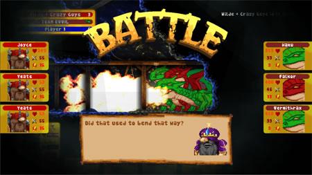 Delve Deeper Battle Screenshot