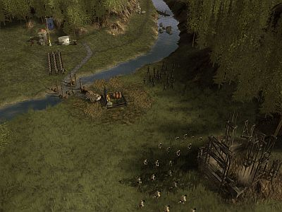 hegemony screenshot - building fort
