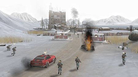 APOX screenshot 2  - winter combat