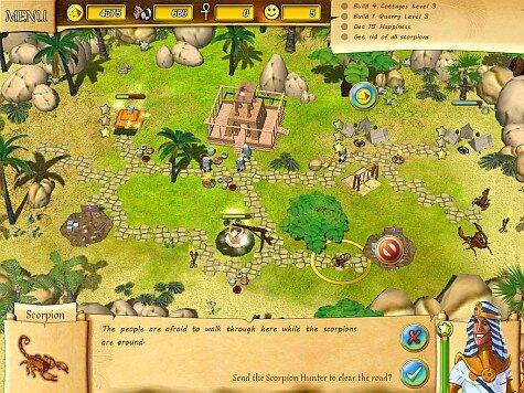 Fate of the Pharaoh - building screenshot