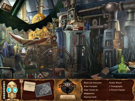 clockwork man hidden object screenshot