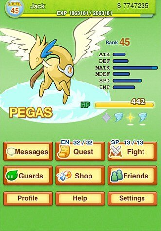 pocket summoner guards game screenshot