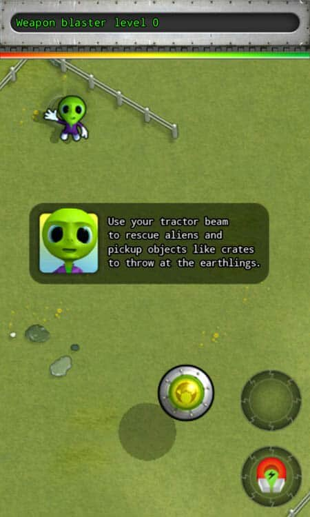 Alien Rescue Screenshot 2