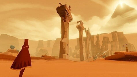 Journey game from thatgamecompany - screenshot
