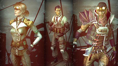 guns of icarus classes