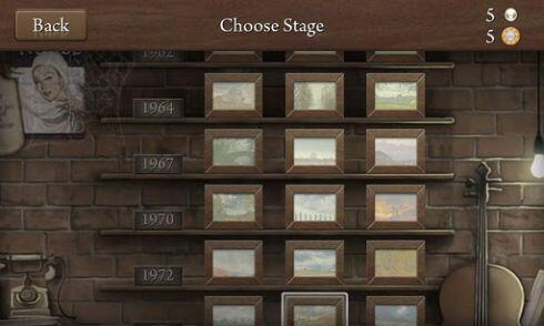 quell reflect - stage selection screen - screenshot