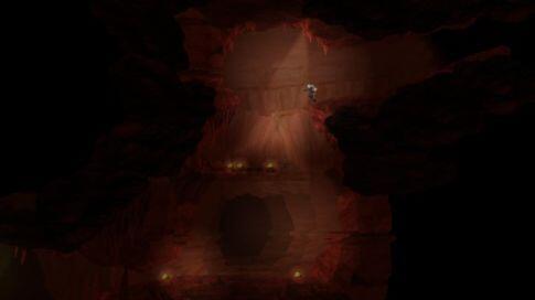 waking mars screenshot - the red rocks
