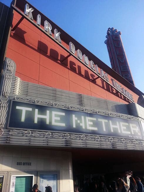 """The Nether"" opening night -  theatrical world premiere at Kirk Douglas Theater, Culver City, California - March 24th, 2013"