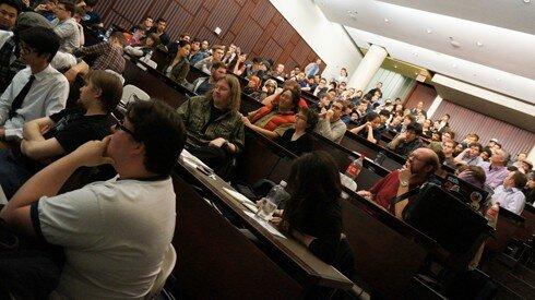 Full house at IGDA Toronto's April Panel