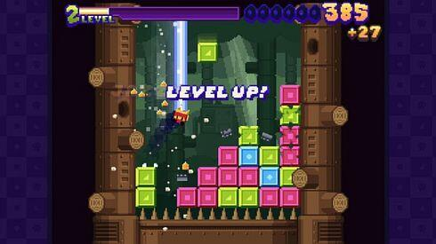 super puzzle platformer deluxe level up screenshot