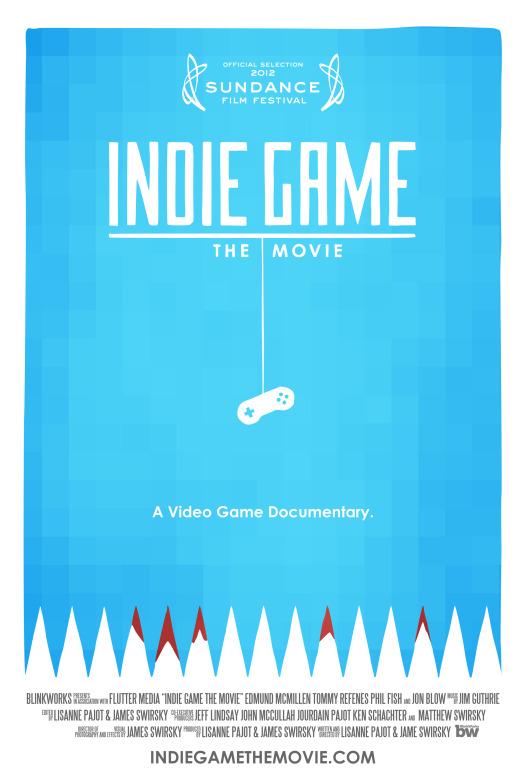"""Résultat de recherche d'images pour """"INDIE GAME THE MOVIE POSTER"""""""