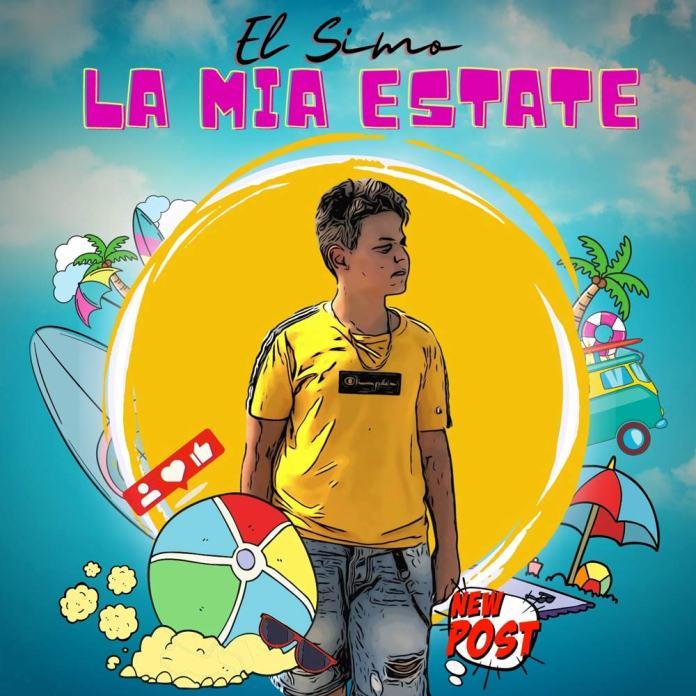 EL SIMO, la mia estate, copertina del singolo