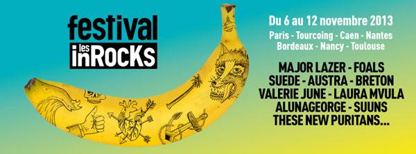 Festival Inrocks 2013