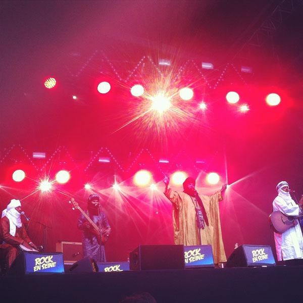 Tinariwen - crédit : Livie Collet
