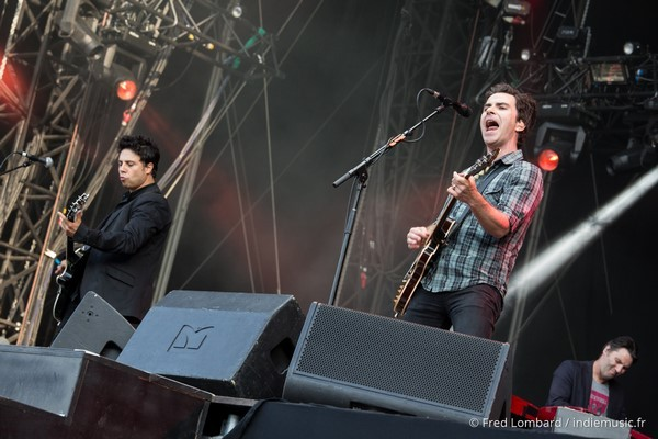 Stereophonics par Fred Lombard