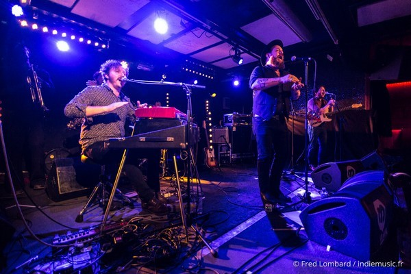 Nathaniel Rateliff par Fred Lombard