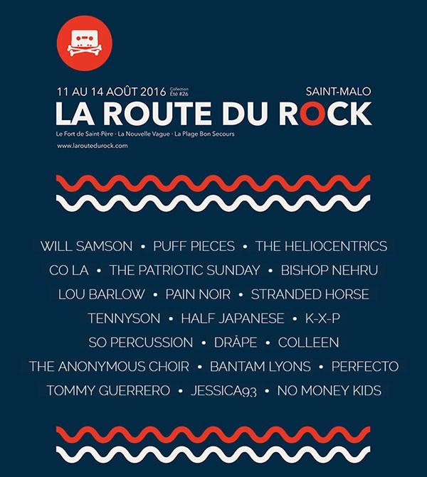 La Route du Rock - collection été #26 par Laurent Thore