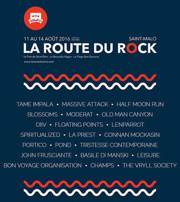 La Route du Rock - collection été #26 par Lucas Masson
