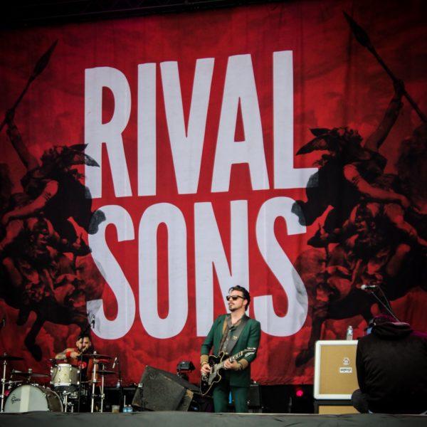 Rival Sons - crédit : Matéo Berthereau