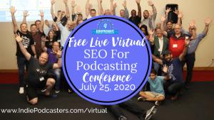 virtual podcast conference