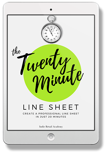 Line Sheets - How To Create One In Just Twenty Minutes