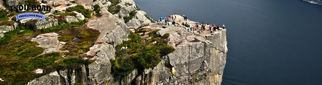 preikestolen pulpito roccia norvegia banner