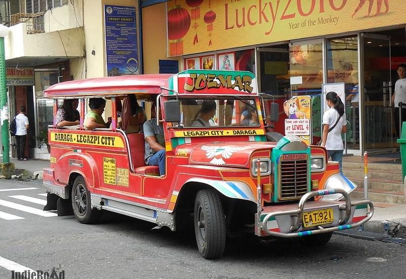 come muoversi nelle filippine jeepney