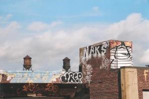 flash fiction writing prompt jersey city graffiti 12 2006