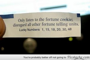 Cookie - Fortune tellers are liars